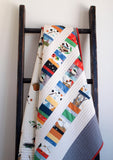 Colourful Patchwork Quilt for Boys or Girls