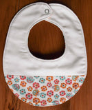 Baby Hat and Bib Gift Set, Tulip Toss