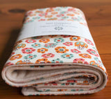 Burp Cloths Gift Set, Tulip Toss