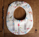 Baby Bib, Woodland Party
