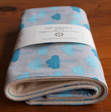 Baby Burp Cloths Set, Cloudy Days
