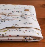 Woodland Animal Baby Blanket, Meadow Run