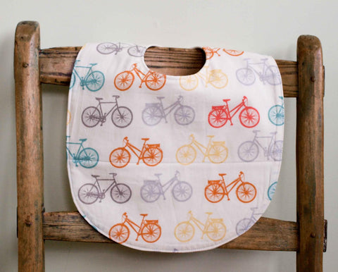 bicycles baby and toddler feeding bib