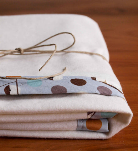 Bank Swallow Flannel Blanket
