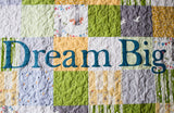 Dream Big Toddler Quilt