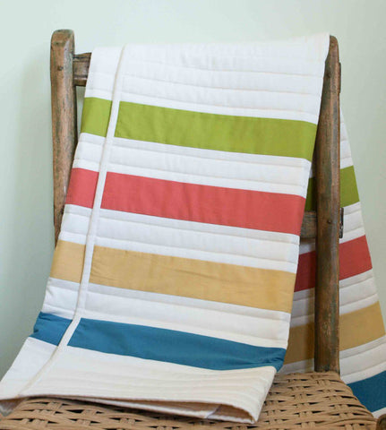 organic cotton point blanket quilt