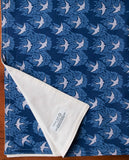 Modern Birds Organic Cotton Baby Blanket