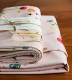 Organic Baby Blanket and Burp Cloths Gift Set, Poem