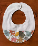 Colourful Leaves Baby Drool Bib