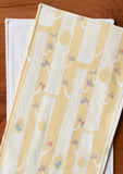 Yellow Woodland Burp Cloths Set
