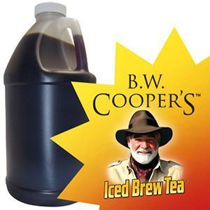 B.W. Coopers Tropical Mango Green Tea (Sweet) Concentrate Jug