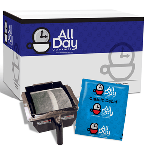 All Day Gourmet Coffee - Classic American Roast DECAF - 1.25oz Filter Packs