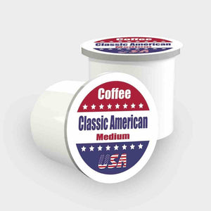 Classic American - (Medium) Coffee USA - Single Cups