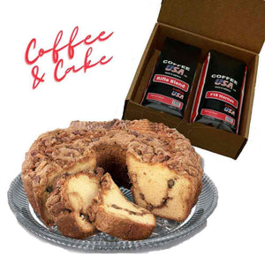 Holiday Coffee and Cake Bundle