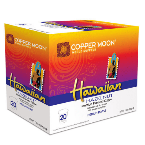Copper Moon Hawaiian Hazelnut Single Cups