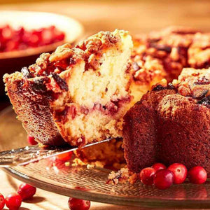 My Grandma's Cranberry Coffee Cake