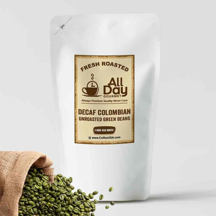 Decaf Colombian Raw Green Beans