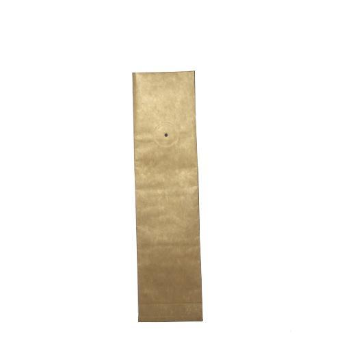 2 Ounce Foil Lined Gusseted Coffee Bags with Valve- 50 count - TAN KRAFT