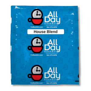 Douwe Egberts House Blend exact match Coffee by All Day Gourmet - 128/1.5oz Filter Pack