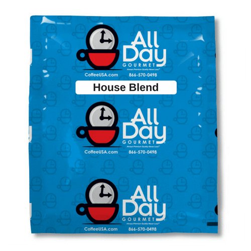 All Day Gourmet House Blend Coffee - 128/1.5oz Filter Pack