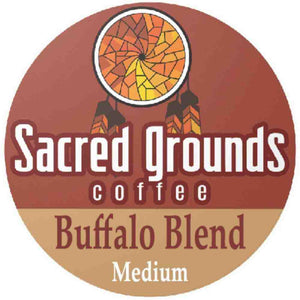Buffalo Blend Single Cups by Sacred Grounds