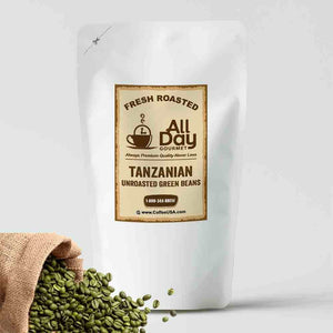 Tanzanian Peaberry Raw Green Beans