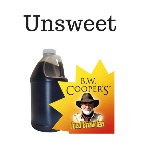 B.W. Coopers Classic Unsweetened Tea Concentrate Jug