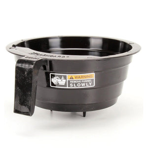 Bunn Filter Basket - 12-Cup Round - Black Plastic - Commercial [20583.0003]