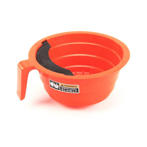 Bunn Filter Basket - 12-Cup Round - Orange Plastic - Commercial [20583.0006]