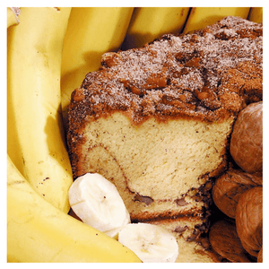 Banana Walnut Coffee Cake