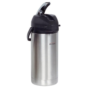 Bunn Airpot - Stainless Steel - 3.8L Capacity (2 x 12 cup pots) - 36725.0000 - Coffee Wholesale USA