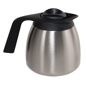 Bunn Thermal Carafe for Coffee - Seamless Stainless Steel Pitcher - 1.9L Capacity [51746.0001]