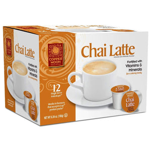 Copper Moon Chai Latte Single Cups