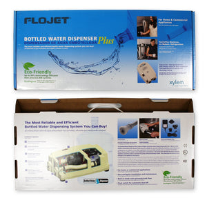 FloJet BW4000-000A Bottled Water Dispenser PLUS - Coffee Wholesale USA