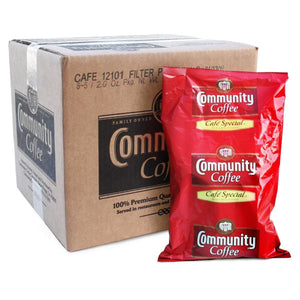 Community Coffee - Cafe Special - 2 oz. Filter Pack - 40 Count Box