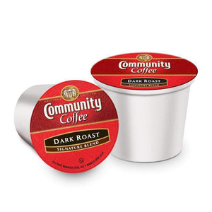 community roasted coffee cups