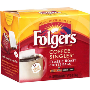 Folgers Single Cup Coffee Filters - Regular Classic