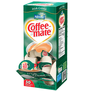 Coffee-mate Liquid Creamer Tubs - Irish Crème - 50ct Box