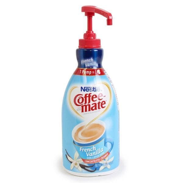 Liquid Creamer - French Vanilla - 1.5 Liter Pump Bottles