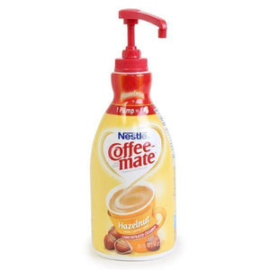 Coffee-mate Liquid Creamer - Hazelnut - 1.5 Liter Pump Bottle