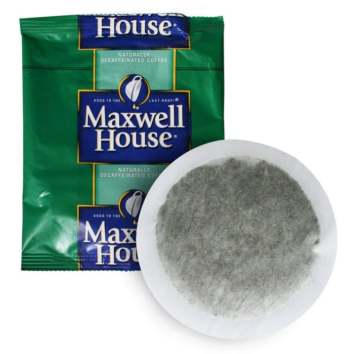 Maxwell House Hotel Filter Pack Coffee - DECAF - In Room 4 Cup Size (0.7oz), Pack of 100