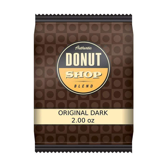 Donut Shop Blend™ Coffee - 2oz Pillow Packs - Original Dark - 42 count box