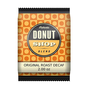 Donut Shop Blend™ Coffee - 2 oz Pillow Packs - DECAF - 42 count box