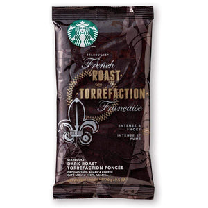 Starbucks Coffee - French Roast - 2.5oz Pillow Pack - 18ct Box