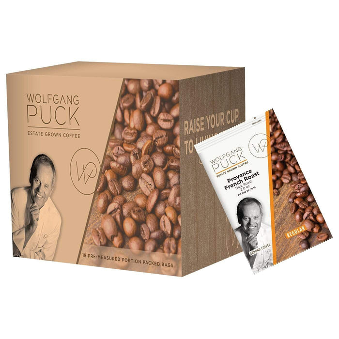 Wolfgang Puck Coffee - 2 oz Pillow Packs - Provence French Roast