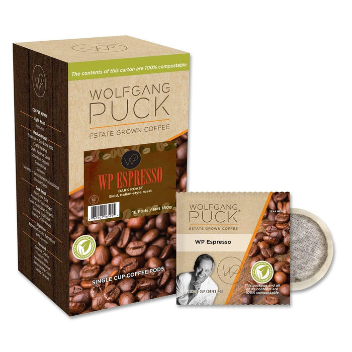 Wolfgang Puck Coffee - Pods - WP Espresso