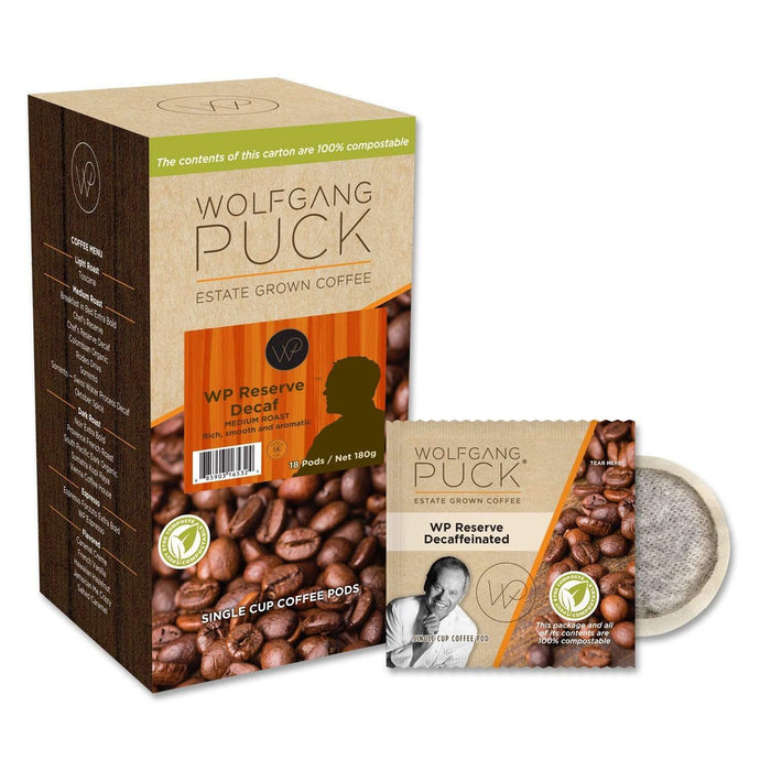 Wolfgang Puck Coffee - Pods - WP Chef's Reserve DECAF