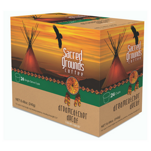 Native American Coffee - Dreamcatcher Decaf Medium Roast - Single Cups