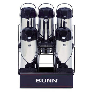Bunn APR5 - 5 Airpot Serving Rack - Coffee Wholesale USA