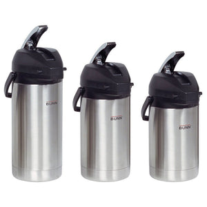 Bunn Airpot - Stainless Steel Liner (2.5L, 3.0L, or 3.8L) - Coffee Wholesale USA